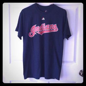 Majestic Cleveland Indians Jason Kipnis Tee Med